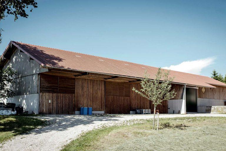 Lager- und Maschinenhalle